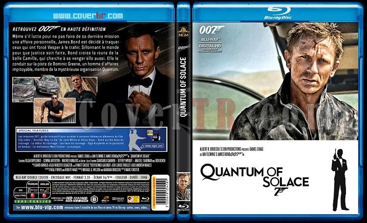 007 James Bond Collection - Custom Bluray Cover Set - French [1962-2015]-22-007-quantum-solacejpg