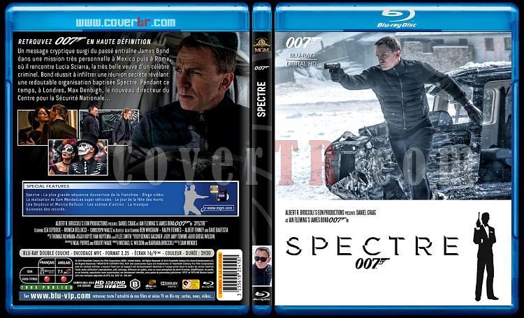 007 James Bond Collection - Custom Bluray Cover Set - French [1962-2015]-24-007-spectrejpg