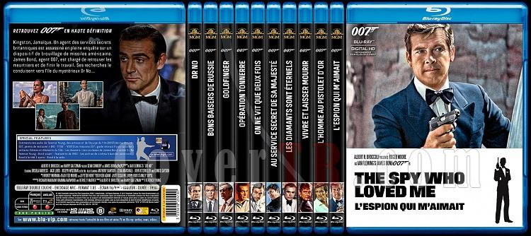007 James Bond Collection - Custom Bluray Cover Set - French [1962-2015]-1jpg