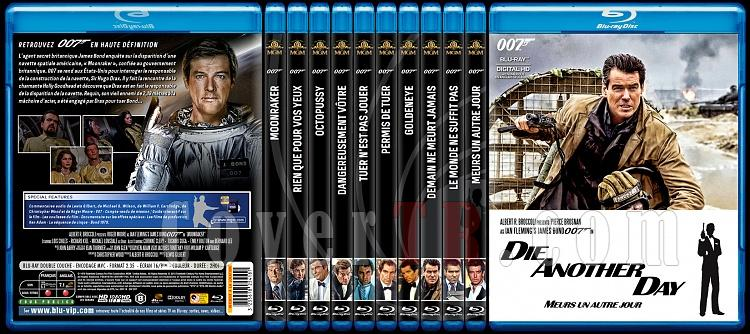 007 James Bond Collection - Custom Bluray Cover Set - French [1962-2015]-2jpg