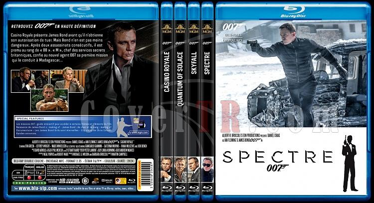 007 James Bond Collection - Custom Bluray Cover Set - French [1962-2015]-3jpg