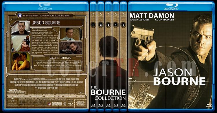 The Bourne Collection - Custom Bluray Set - English [2002-2016]-00jpg
