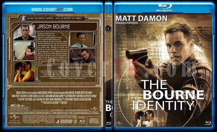 The Bourne Collection - Custom Bluray Set - English [2002-2016]-01jpg