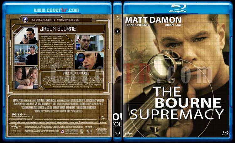The Bourne Collection - Custom Bluray Set - English [2002-2016]-02jpg