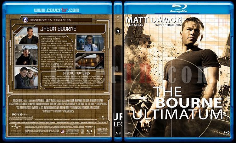 The Bourne Collection - Custom Bluray Set - English [2002-2016]-03jpg