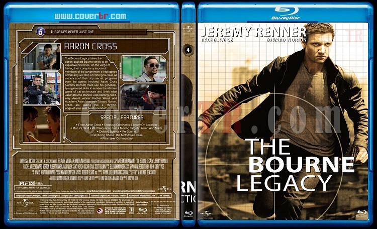 The Bourne Collection - Custom Bluray Set - English [2002-2016]-04jpg