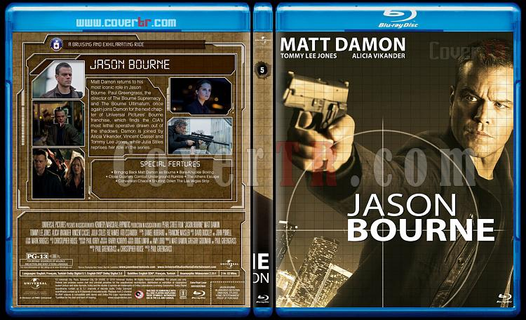 The Bourne Collection - Custom Bluray Set - English [2002-2016]-05jpg