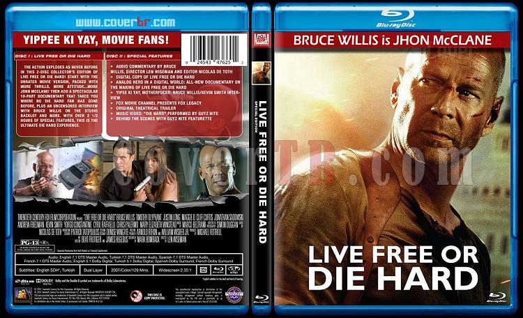 Die Hard Series (Zor Ölüm Serisi) - Custom Dvd Bluray Set - English [1988-2013]-4jpg