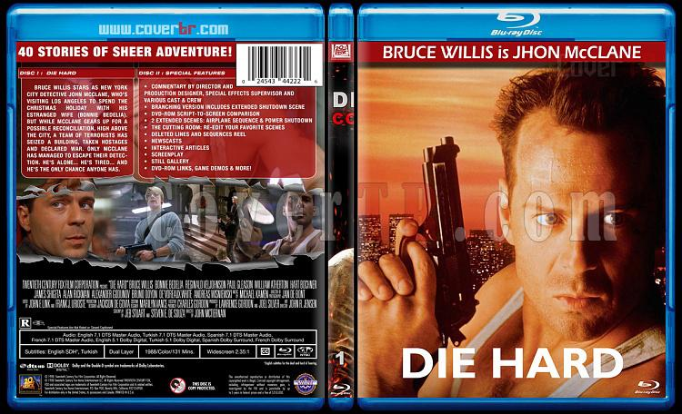 Die Hard Series (Zor Ölüm Serisi) - Custom Dvd Bluray Set - English [1988-2013]-1jpg