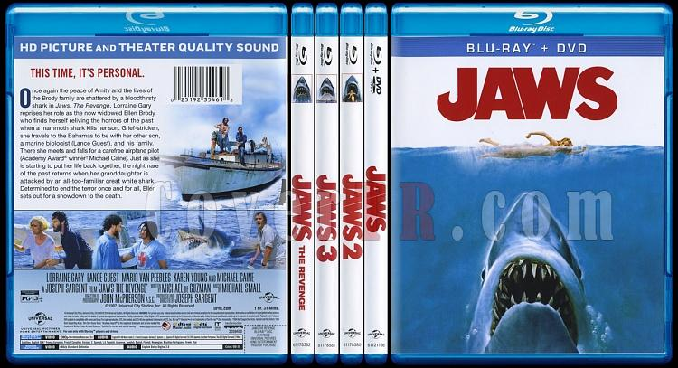Jaws - Scan Bluray Cover Set - English [1975-1987]-br-spine-copyjpg