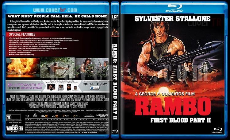 Rambo Collection - Custom Bluray Cover Set - English [1982-2008]-2jpg