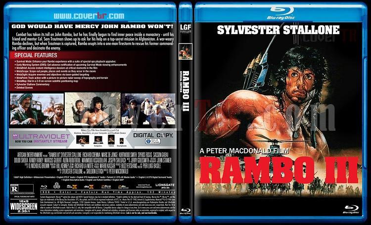 Rambo Collection - Custom Bluray Cover Set - English [1982-2008]-3jpg