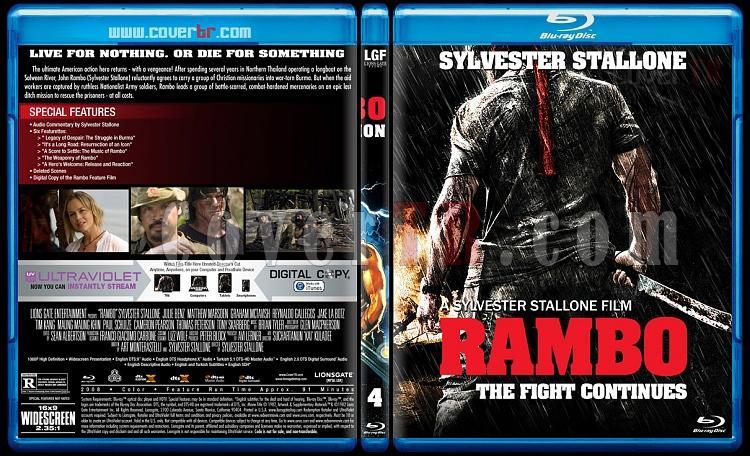 Rambo Collection - Custom Bluray Cover Set - English [1982-2008]-4jpg