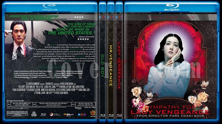 The Vengeance Trilogy - Custom Bluray Cover Set - English [2002-2005]-br-spine-copyjpg