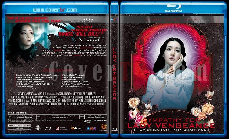 The Vengeance Trilogy - Custom Bluray Cover Set - English [2002-2005]-ladyjpg
