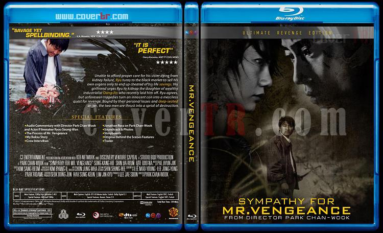The Vengeance Trilogy - Custom Bluray Cover Set - English [2002-2005]-mrjpg