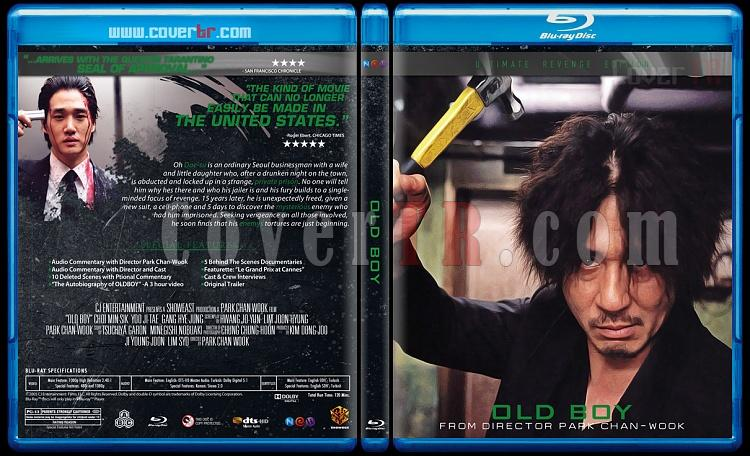 The Vengeance Trilogy - Custom Bluray Cover Set - English [2002-2005]-oldjpg