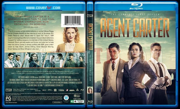 Agent Carter (Seasons 1-2) - Custom Bluray Cover Set - English [2015-2016]-1jpg