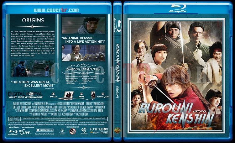 Rurouni Kenshin Trilogy - Custom Bluray Cover Set - English [2012-2014]-originsjpg