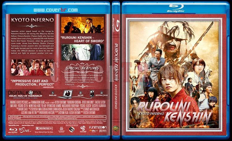 Rurouni Kenshin Trilogy - Custom Bluray Cover Set - English [2012-2014]-kyotojpg