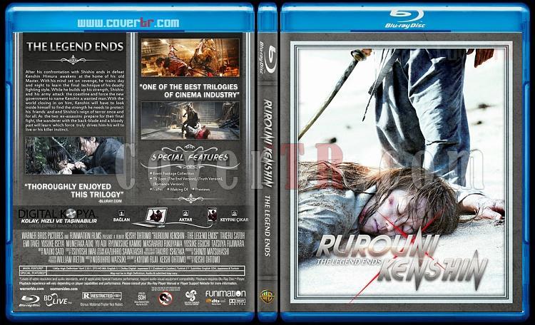 Rurouni Kenshin Trilogy - Custom Bluray Cover Set - English [2012-2014]-legendjpg