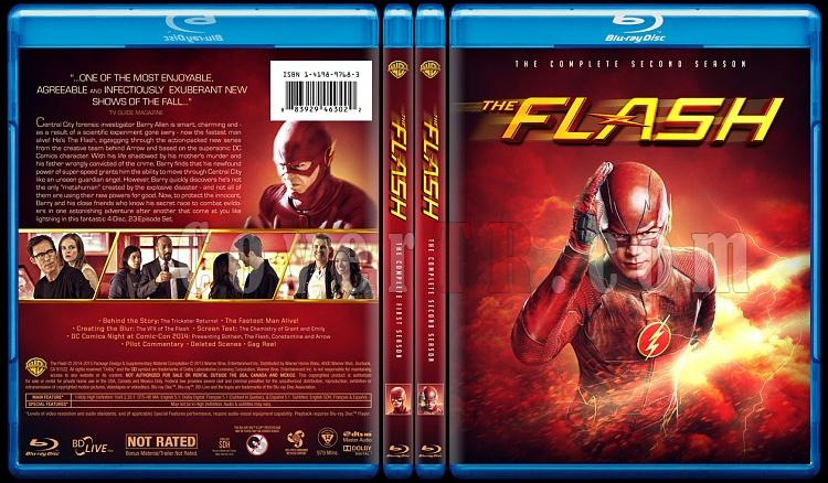 The Flash (Seasons 1-2) - Custom Bluray Cover Set - English [2014-?]-alljpg
