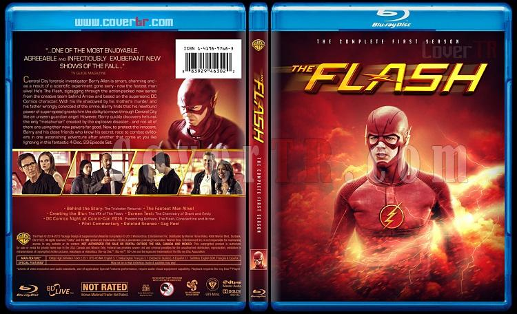 The Flash (Seasons 1-2) - Custom Bluray Cover Set - English [2014-?]-1jpg