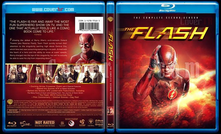 The Flash (Seasons 1-2) - Custom Bluray Cover Set - English [2014-?]-2jpg