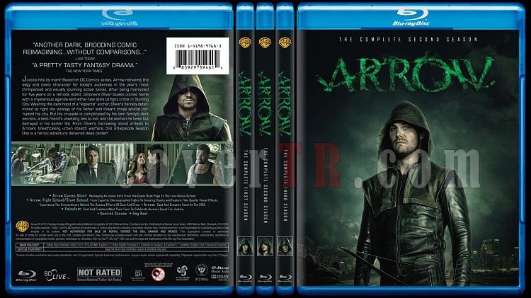 Arrow (Seasons 1-3) - Custom Bluray Cover - English [2012-?]-alljpg