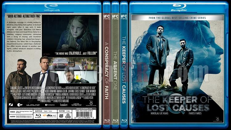 Department Q Trilogy - Custom Bluray Cover Set - English [2013-2014-2016]-0br-spinejpg