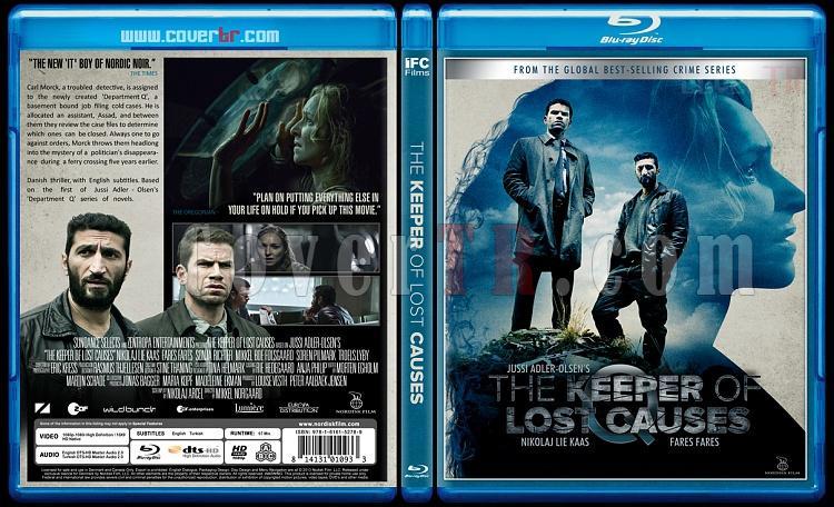 Department Q Trilogy - Custom Bluray Cover Set - English [2013-2014-2016]-keeper-lost-causes-kafesteki-kadin-2013jpg