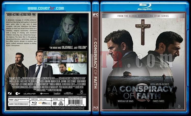 Department Q Trilogy - Custom Bluray Cover Set - English [2013-2014-2016]-conspiracy-faith-inancin-tuzagi-2016jpg