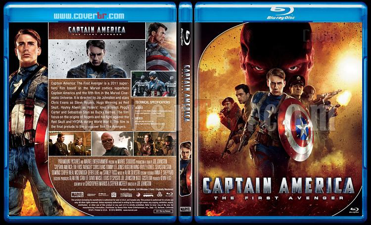 Captain America Series - Custom Bluray Cover Set - English [2011 - 2014 - 2016]-captain1jpg