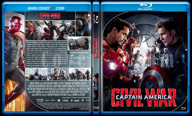 Captain America Series - Custom Bluray Cover Set - English [2011 - 2014 - 2016]-captain3jpg