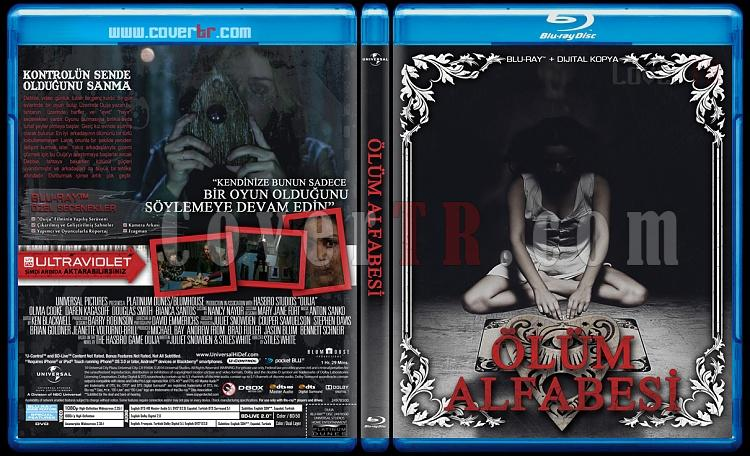 Ouija Duology (Ölüm Alfabesi) - Custom Bluray Cover Set - Turkish [2014-2016]-ouijajpg