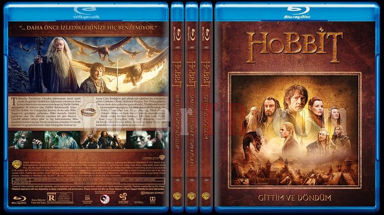Hobbit Collection (Hobbit Koleksiyonu) - Custom Bluray Cover Set - Türkçe [2012-2013-2014]-alljpg