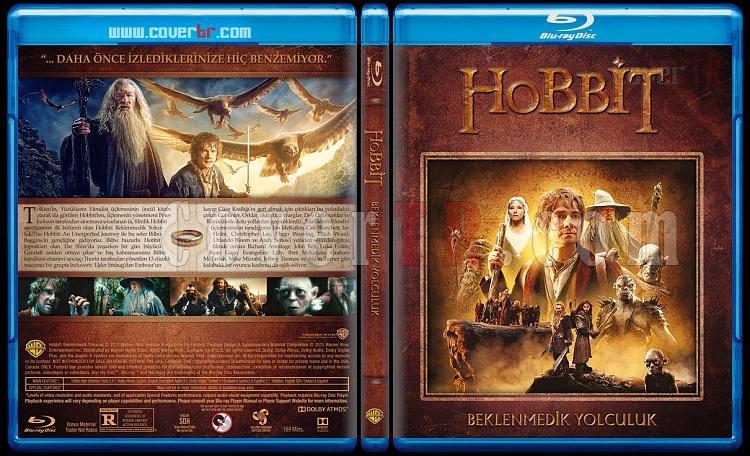 Hobbit Collection (Hobbit Koleksiyonu) - Custom Bluray Cover Set - Türkçe [2012-2013-2014]-1jpg