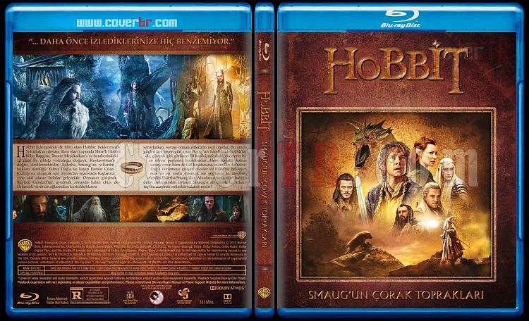 Hobbit Collection (Hobbit Koleksiyonu) - Custom Bluray Cover Set - Türkçe [2012-2013-2014]-2jpg