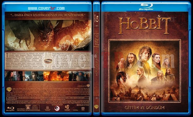 Hobbit Collection (Hobbit Koleksiyonu) - Custom Bluray Cover Set - Türkçe [2012-2013-2014]-3jpg