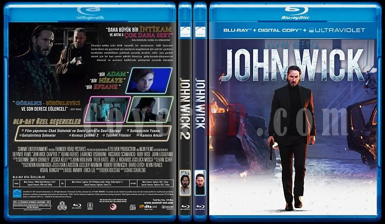 John Wick Duology - Custom Bluray Cover Set - Turkish [2014-2017]-john-wick-duologyjpg