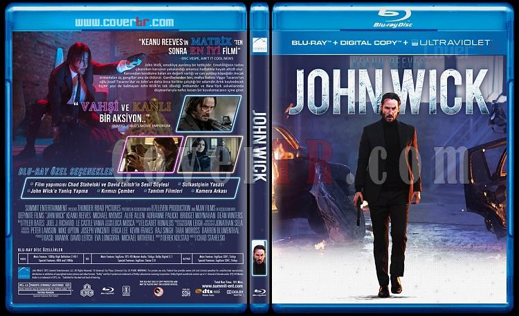 John Wick Duology - Custom Bluray Cover Set - Turkish [2014-2017]-jon-1jpg