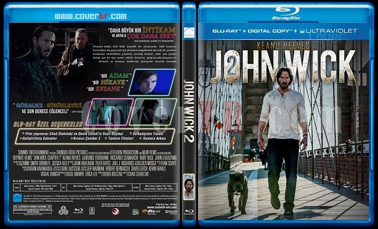 John Wick Duology - Custom Bluray Cover Set - Turkish [2014-2017]-jon-2jpg