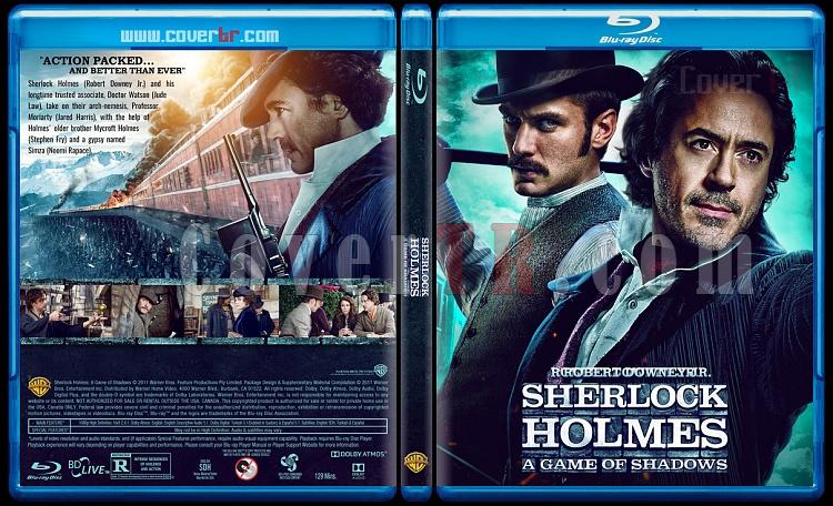 Sherlock Holmes Collection  - Custom Bluray Cover Set - English [2009-2011]-2jpg