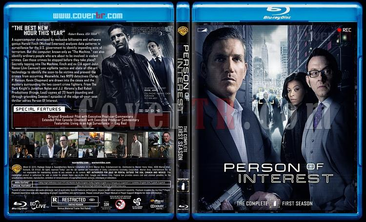 Person of Interest (Seasons 1-5) - Custom Bluray Cover Set - English [2011-2016]-1jpg