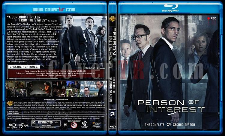 Person of Interest (Seasons 1-5) - Custom Bluray Cover Set - English [2011-2016]-2jpg