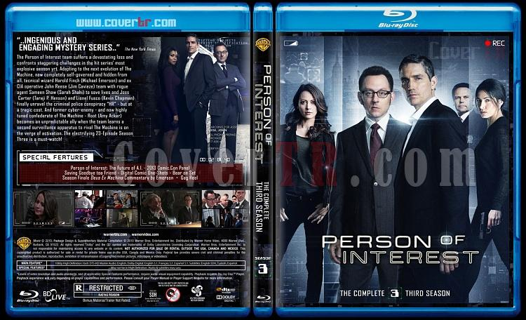 Person of Interest (Seasons 1-5) - Custom Bluray Cover Set - English [2011-2016]-3jpg