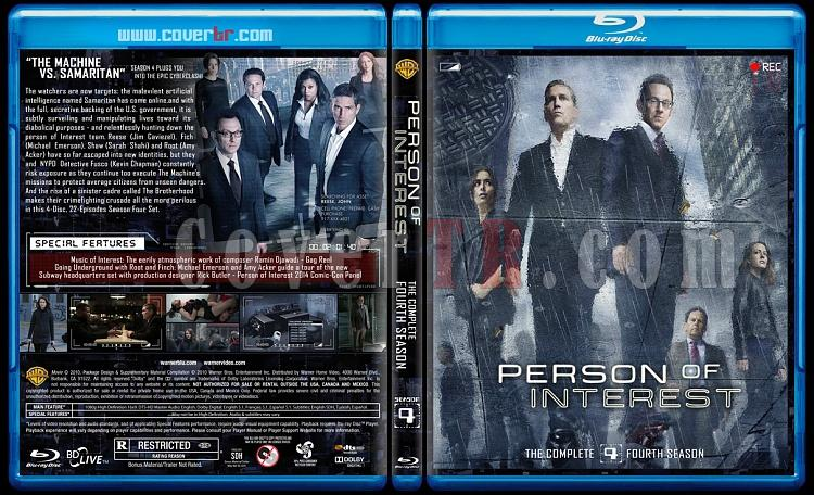 Person of Interest (Seasons 1-5) - Custom Bluray Cover Set - English [2011-2016]-4jpg