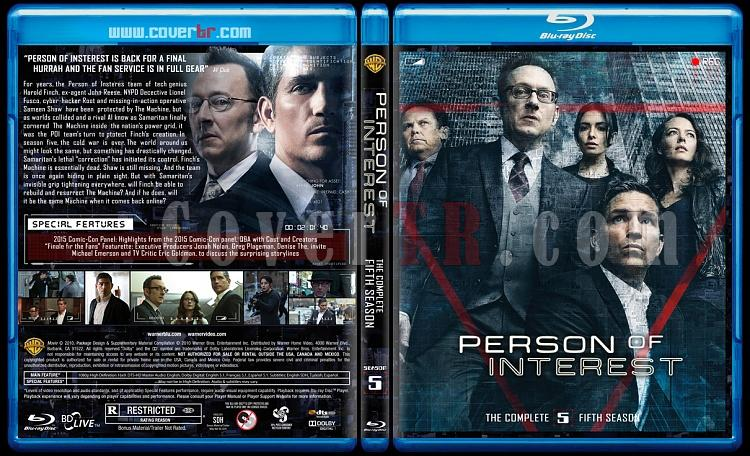 Person of Interest (Seasons 1-5) - Custom Bluray Cover Set - English [2011-2016]-5jpg