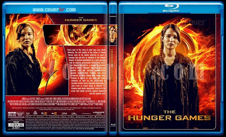 The Hunger Games Collection - Custom Bluray Cover Set - English [2012-2015]-1jpg