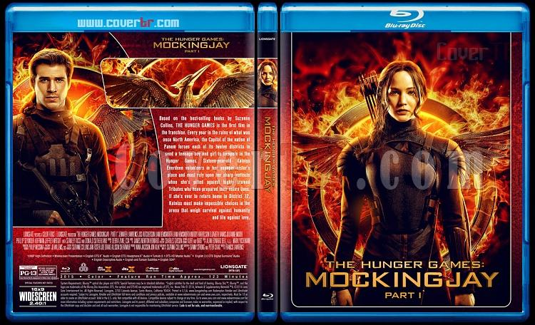 The Hunger Games Collection - Custom Bluray Cover Set - English [2012-2015]-3jpg